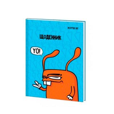 Щоденник В5 твердая обложка Kite K21-262-3 Rabbit, YO лак *