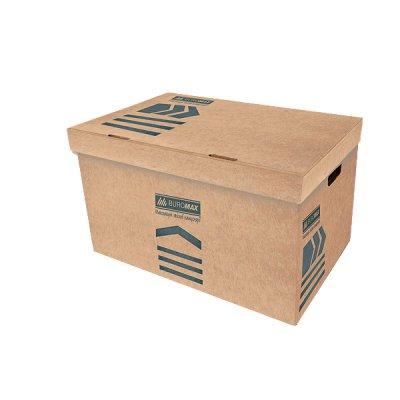 "Коробка архивная картонная А3/ 380 ""BuroMAX"" BM 3270-34 крафт"