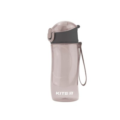 Бутылка для воды Kite К18-400-03 530мл сер.