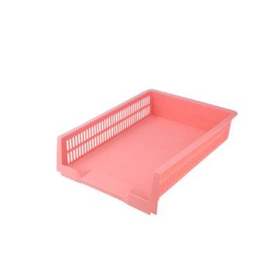 """Лоток горизонтальный """"Axent"""" 4040-10 """"Pastelini"""" розовый"""