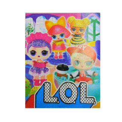 """Раскраска А4 (6 л) """"К""""  """"L.O.L.-1"""""""