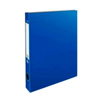 Папка пластиковая A4 50 мм 4 кольца Economix E30712-02 синяя
