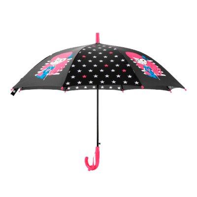 Зонт Kite К20-2001-1со свистком 86 см черный ##