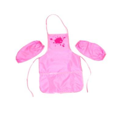 Фартук для трудов + нарукавники CF61490-09 розовый  **