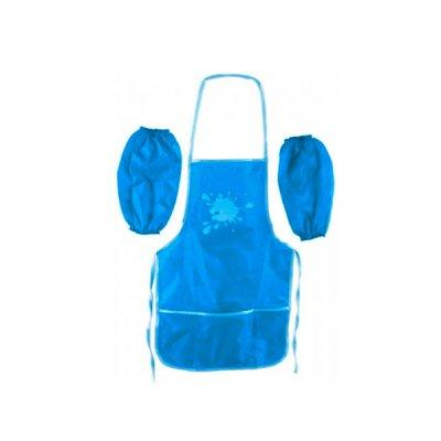 Фартук для трудов + нарукавники CF61490-11 голубой  **