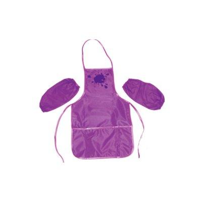 Фартук для трудов + нарукавники CF61490-12 фиолетовый **