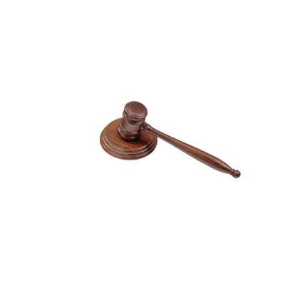 Молоток судьи 3824 WDN орех деревянный **