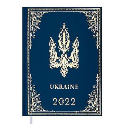 Ежедневник BuroMax 2022 UKRAINE А5 BM2128-14