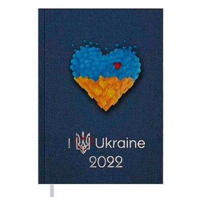 Ежедневник BuroMax 2022 UKRAINE А5 BM2128-09
