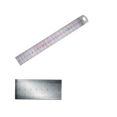 Линейка металлическая 20 см широкая
