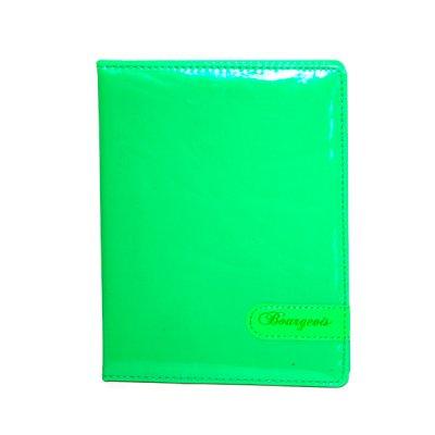 """Блокнот А5 80 л # в клетку """"М"""" 8900 твердый переплет, зеленый"""