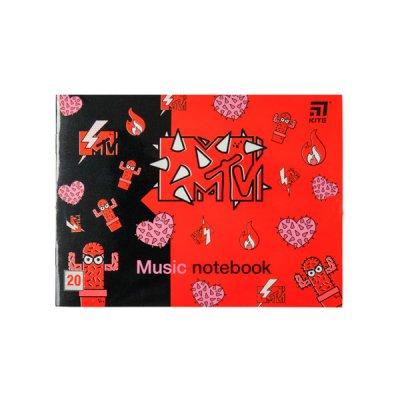 """Тетрадь для нот А5 """"Kite"""" MTV20-405-2 """"MTV-2"""" 20 л"""