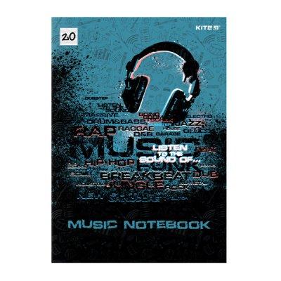 Тетрадь для нот А4 Kite K21-404 Listen to thesound 20 л