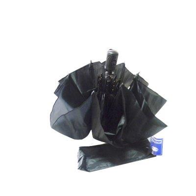 Зонт женский полуавтомат 303 черный **