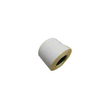 Ценник прямоуг. 58х40 (650шт) термо принт. (белая) **