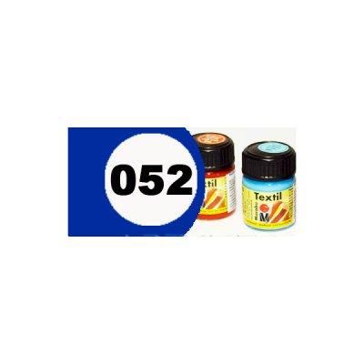 """Краска акриловая """"Marabu"""" 15 мл для светлой ткани №052 синяя **"""