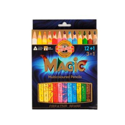 """Карандаши цветные """"K-I-N"""" 340801 Magic 12+1шт"""
