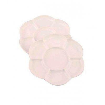 Палитра для акварели Rosa Цветок d17,8 см (2 шт) **