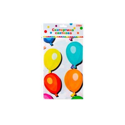 "Скатерть ""Одноразовая"" 132х183 ""Мх -42055 Balloons ""**"