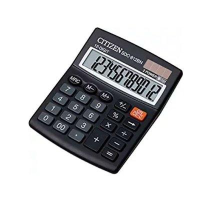 "Калькулятор ""Citizen"" SDC-812 BN 12р."
