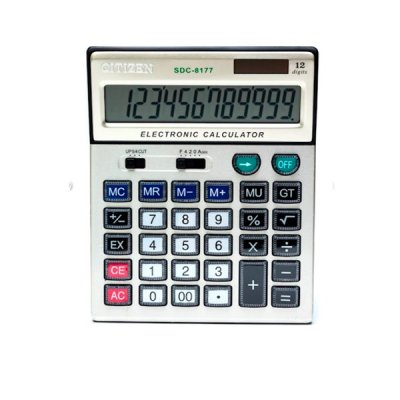 "Калькулятор ""Citizen"" SDC-8177 12р. (аналог)"