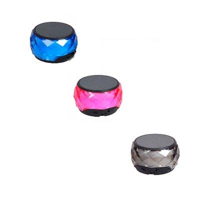 Колонка портативная Diamond разноцветное сияние 8 х 4,5 см **