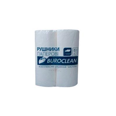 "Полотенца бум. ""Buroclean"" (2шт) бел. **"