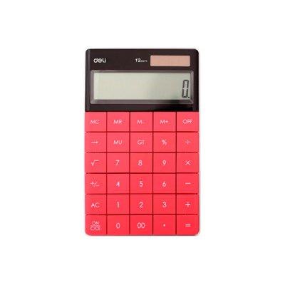 "Калькулятор ""Deli"" 1589-Р 12р. корал."