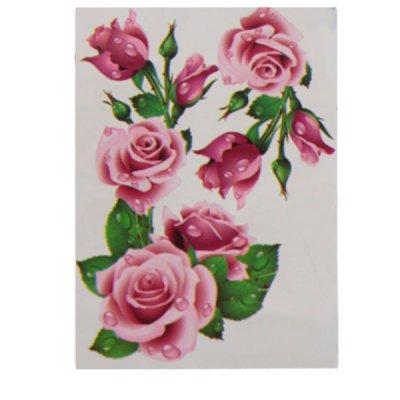 Набор наклеек для интерьера  Розы №25 **