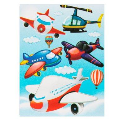 Набор наклеек для интерьера ZV  Самолеты №19 **