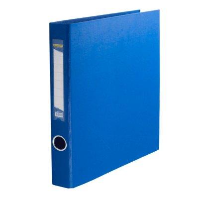 """Папка- регистратор A4 30 мм 4 кольца """"BuroMax"""" 3106-02 синяя"""