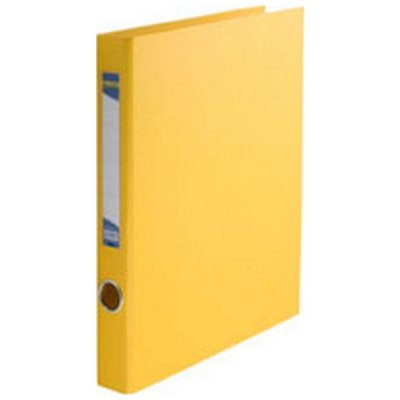 """Папка- регистратор A4 30-45 мм 2 кольца """"BuroMAX"""" 3101-08 желтая"""