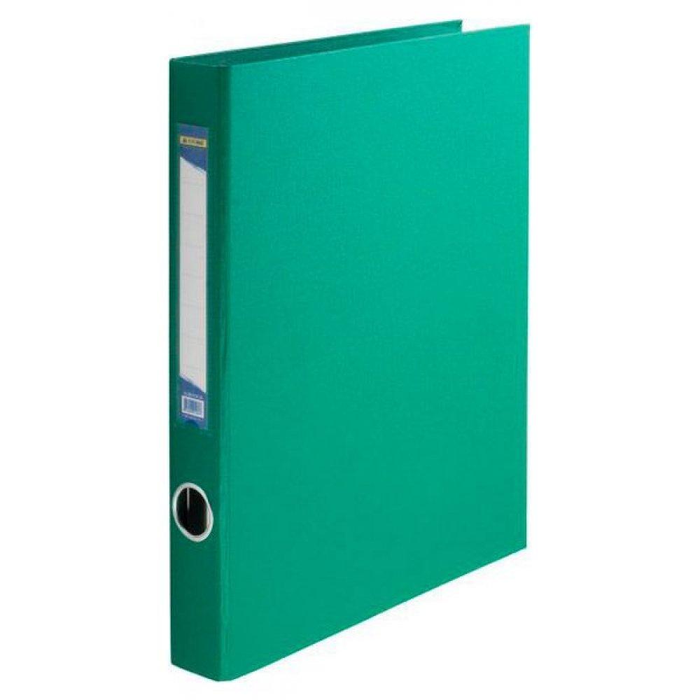 """Папка- регистратор A4 35-45 мм 2 кольца """"BuroMAX"""" 3101-04 зеленая"""