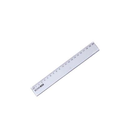 Линейка пластиковая 15 см Е-81303 Economix  прозрачная