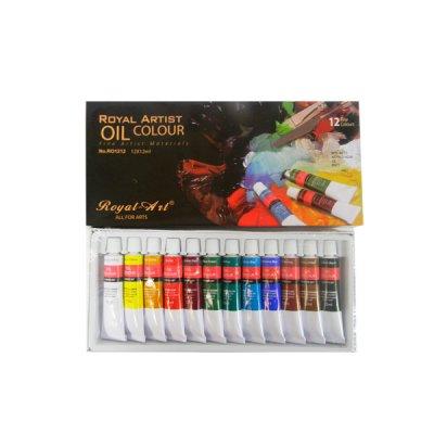 Краски масл. 12цв Royal-Art RO1212 12мл