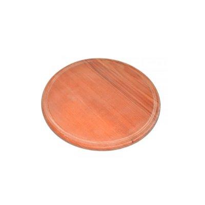 Деревянная доска для пиццы D29,5см с пропиткой **