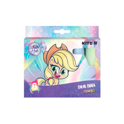 Мел цветной  6 цветов Kite Jumbo LP21-073 Little Pony