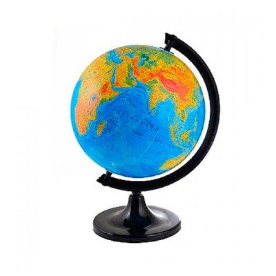 Глобус 32 см физический