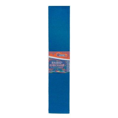 Бумага гофрированная Krepina 100% 8042 (50 г/ м2) синяя