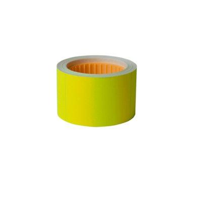 Ценник прямоугольный 30х20 BuroMAX  282104-08 (300 шт) 6 м желтый