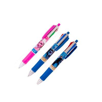 Ручка детская 4 цвета Холодное сердце Mix