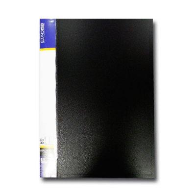 """Папка с файлами А4/30 """"Economix"""" E30603-01 черн."""