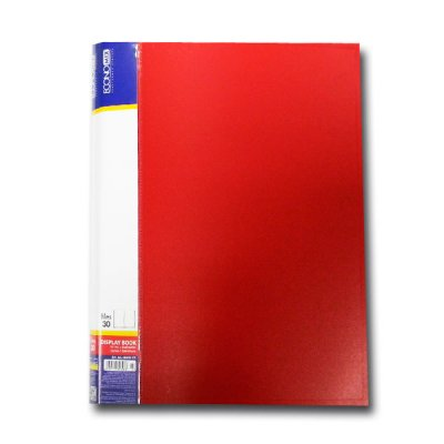 """Папка с файлами А4/30 """"Economix"""" E30603-03 красн."""
