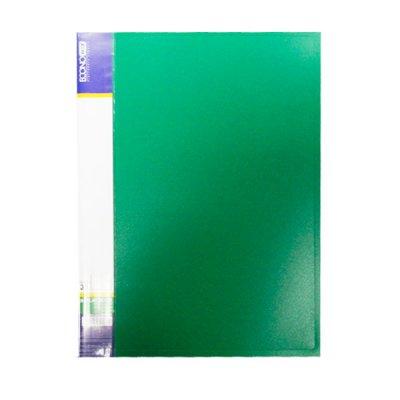 "Папка с файлами А4/30 ""Economix"" E30603-04 зел."