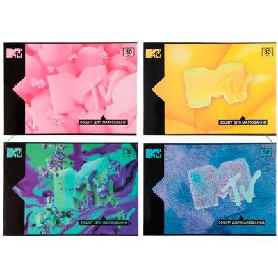 Альбом 30 л 120 г/м2 Kite MTV20-246 MTV спираль боковая