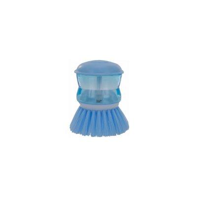 Щетка E72725 Economix Cleaning для посуды с дозатором гол. *