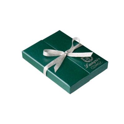"Набор подар. ""Langrest"" LS 122008-04Crystal Heart(ручка+визитница) корп. зел.**"