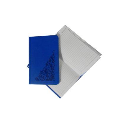 Книга алфавитная А6 в212 06Г голубая