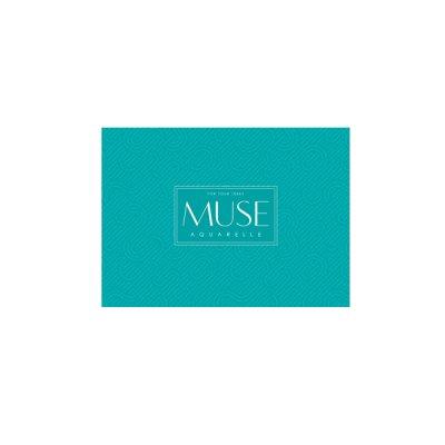 Альбом для акварели А5+ 15 л 300 г/м2 «Ш» Muse 038 с отрывными листами