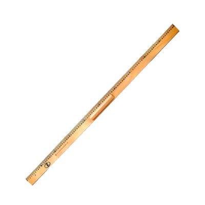 """Линейка дерев. 1м классная с ручкой """"Люкс Колор"""""""